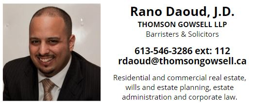 Rano Daoud Thomson Gowsell LLP